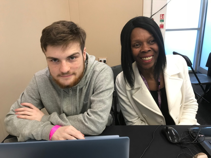 Isaac and Nez at Lambeth Count 2018