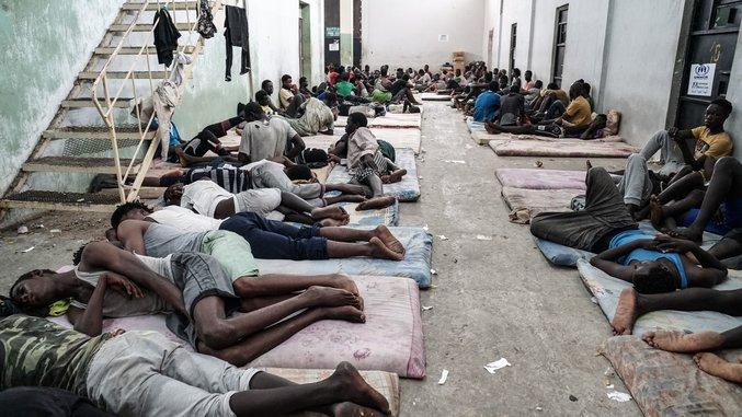 TOPSHOT-LIBYA-EUROPE-CONFLICT-MIGRANTS