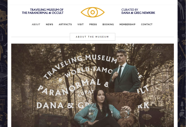 traveling musem of the paranormal and accult